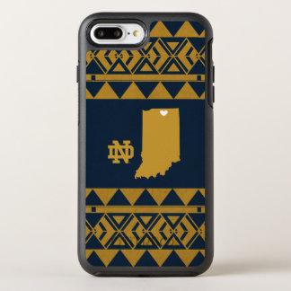 Coque Otterbox Symmetry Pour iPhone 7 Plus Amour tribal d'état de Notre Dame |
