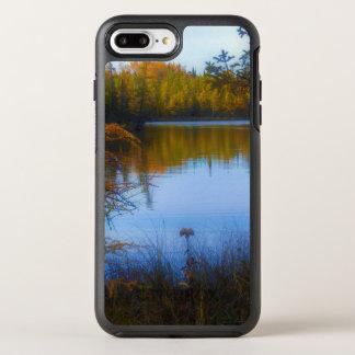 Coque Otterbox Symmetry Pour iPhone 7 Plus arbres à travers un lac dans le cas de téléphone