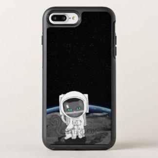 Coque Otterbox Symmetry Pour iPhone 7 Plus Astronaute de chat !