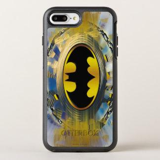 Coque Otterbox Symmetry Pour iPhone 7 Plus Batman a décoré le logo