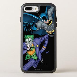Coque Otterbox Symmetry Pour iPhone 7 Plus Batman et joker avec l'arme à feu