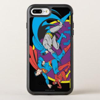 Coque Otterbox Symmetry Pour iPhone 7 Plus Batman + Superman + Éclair