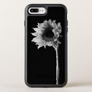 Coque Otterbox Symmetry Pour iPhone 7 Plus Beau portrait de tournesol en noir et blanc