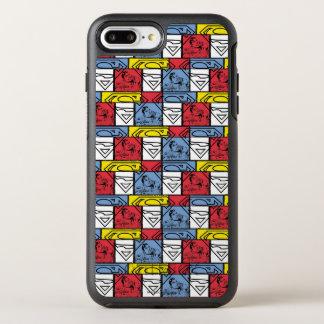 Coque Otterbox Symmetry Pour iPhone 7 Plus Boucliers colorés de motif