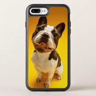 Coque Otterbox Symmetry Pour iPhone 7 Plus Bouledogue français recherchant