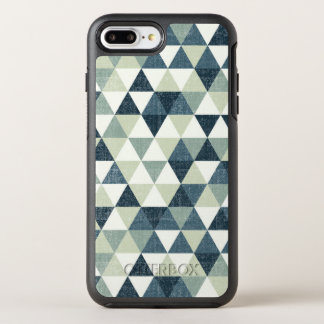 Coque Otterbox Symmetry Pour iPhone 7 Plus Caisse bleue élégante de téléphone du motif | de