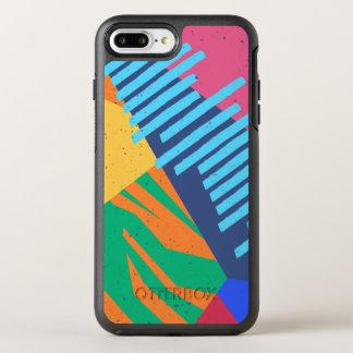 Coque Otterbox Symmetry Pour iPhone 7 Plus Caisse tropicale abstraite colorée de téléphone de