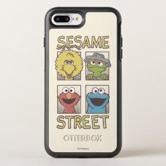 Coque Otterbox Symmetry Pour iPhone 7 Plus Caractère de StreetVintage de sésame comique