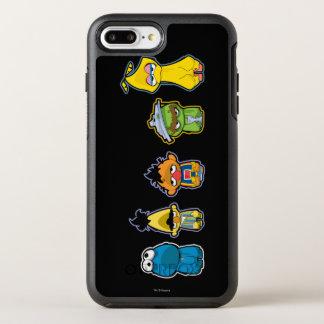 Coque Otterbox Symmetry Pour iPhone 7 Plus Caractères de Sesame Street de zombi