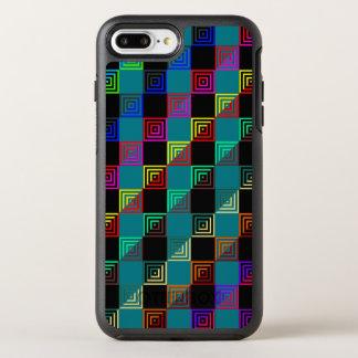 Coque Otterbox Symmetry Pour iPhone 7 Plus Carrés colorés à doses égales