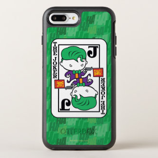 Coque Otterbox Symmetry Pour iPhone 7 Plus Carte de jeu de joker de Chibi