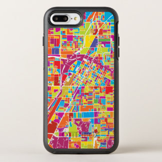 Coque Otterbox Symmetry Pour iPhone 7 Plus Carte de Las Vegas coloré, Nevada
