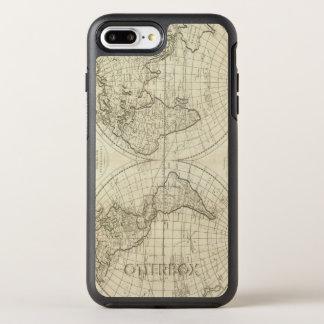 Coque Otterbox Symmetry Pour iPhone 7 Plus Carte du monde 2