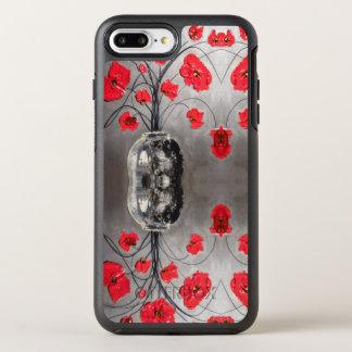Coque Otterbox Symmetry Pour iPhone 7 Plus cas abstrait floral de téléphone