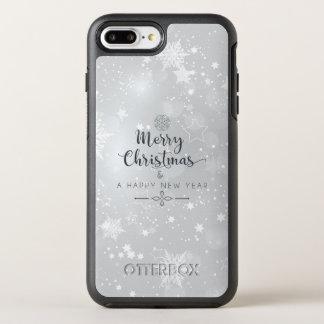 Coque Otterbox Symmetry Pour iPhone 7 Plus Cas argenté élégant de Noël et de téléphone de la