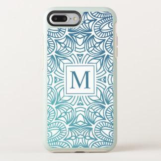 Coque Otterbox Symmetry Pour iPhone 7 Plus Cas floral élégant de téléphone du monogramme | de