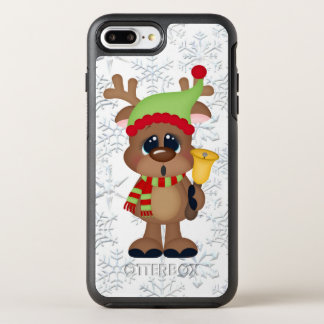 Coque Otterbox Symmetry Pour iPhone 7 Plus Cas plus de l'iPhone 7 de renne de cloche de Noël