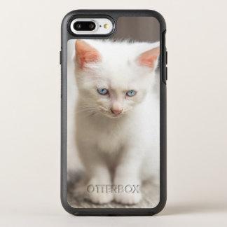 Coque Otterbox Symmetry Pour iPhone 7 Plus Chaton blanc