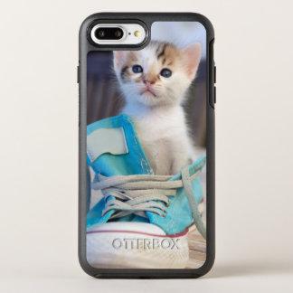 Coque Otterbox Symmetry Pour iPhone 7 Plus Chaton dans la chaussure bleue
