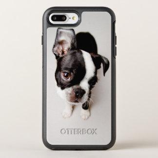 Coque Otterbox Symmetry Pour iPhone 7 Plus Chiot d'Edison Boston Terrier