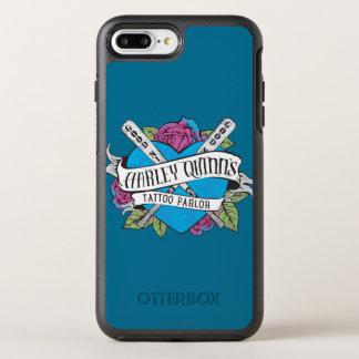 Coque Otterbox Symmetry Pour iPhone 7 Plus Coeur de salon de tatouage du suicide peloton |