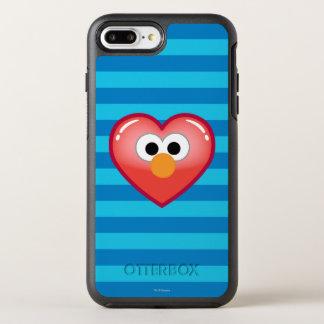 Coque Otterbox Symmetry Pour iPhone 7 Plus Coeur d'Elmo