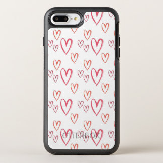 Coque Otterbox Symmetry Pour iPhone 7 Plus Coeurs