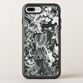 Coque Otterbox Symmetry Pour iPhone 7 Plus Collage de gris de Superman