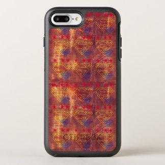 Coque Otterbox Symmetry Pour iPhone 7 Plus Conception grunge de logo