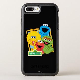 Coque Otterbox Symmetry Pour iPhone 7 Plus Copains de Sesame Street