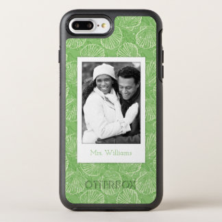 Coque Otterbox Symmetry Pour iPhone 7 Plus Coquillages d'ensemble de photo et de nom