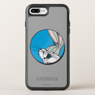 Coque Otterbox Symmetry Pour iPhone 7 Plus Correction bleue de ™ de BUGS BUNNY rétro
