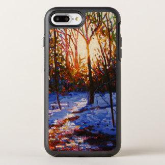 Coque Otterbox Symmetry Pour iPhone 7 Plus Coucher du soleil sur la neige 2010