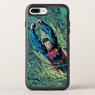Coque Otterbox Symmetry Pour iPhone 7 Plus Coupures de Superman