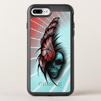 Coque Otterbox Symmetry Pour iPhone 7 Plus Crâne et papillons