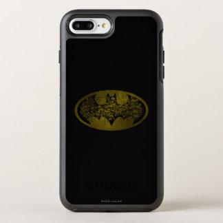 Coque Otterbox Symmetry Pour iPhone 7 Plus Crânes du symbole | de Batman dans le logo de