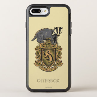 Coque Otterbox Symmetry Pour iPhone 7 Plus Crête de Harry Potter | Hufflepuff avec le