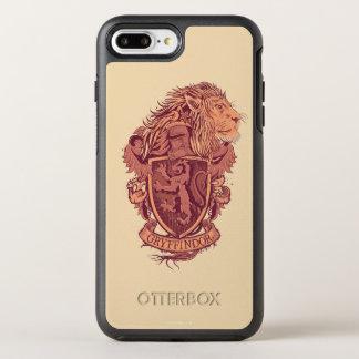 Coque Otterbox Symmetry Pour iPhone 7 Plus Crête de lion de Harry Potter   Gryffindor