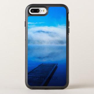 Coque Otterbox Symmetry Pour iPhone 7 Plus Dock sur le lac brumeux calme, la Californie