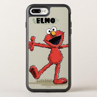 Coque Otterbox Symmetry Pour iPhone 7 Plus Elmo vintage 2