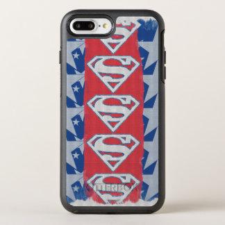 Coque Otterbox Symmetry Pour iPhone 7 Plus Étoiles et logo de Superman