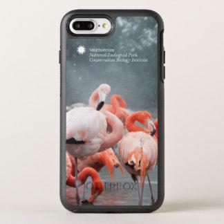Coque Otterbox Symmetry Pour iPhone 7 Plus Flamants de Smithsonien | dans la neige