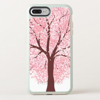 Coque Otterbox Symmetry Pour iPhone 7 Plus Fleurs de cerisier élégantes dans le cas de