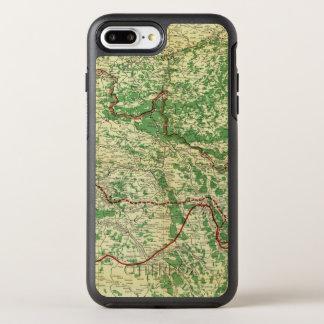 Coque Otterbox Symmetry Pour iPhone 7 Plus Front occidental de carte