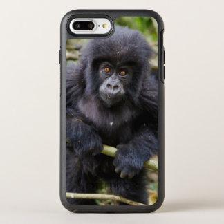 Coque Otterbox Symmetry Pour iPhone 7 Plus Gorille de montagne (gorille Beringei Beringei)