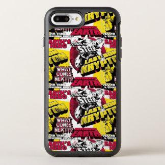 Coque Otterbox Symmetry Pour iPhone 7 Plus Homme de rouge et jaune en acier
