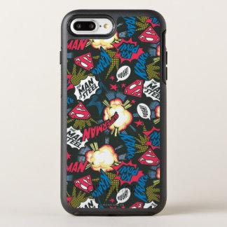 Coque Otterbox Symmetry Pour iPhone 7 Plus Homme du motif en acier de logo