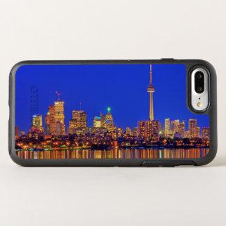 Coque Otterbox Symmetry Pour iPhone 7 Plus Horizon du centre de Toronto la nuit