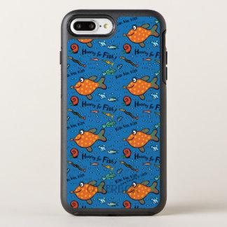 Coque Otterbox Symmetry Pour iPhone 7 Plus Hourra pour le motif de poissons