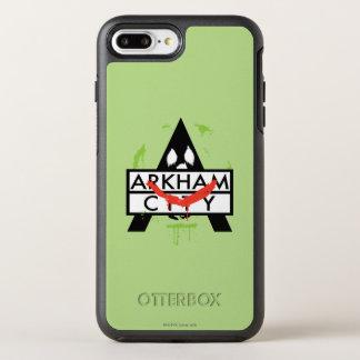 Coque Otterbox Symmetry Pour iPhone 7 Plus Icône de ville d'Arkham avec les marques 2 de